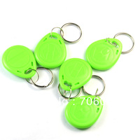 Access Control 125KHZ RFID ID Writable & Readable Keychain Keyfobs/Tags EM4100 Tags