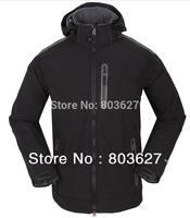 Free shipping hot Sale soft shell fleece jacket Men's waterproof windproof wear Winter Spring Fall resistant warm Jackets