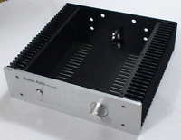 3209 Full Aluminum Enclosure Class A Amp Case Power Amplifier Box Chassis
