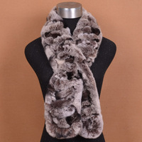 Fur scarf rex rabbit hair long scarf lovers design autumn and winter thermal fashion rabbit fur muffler scarf