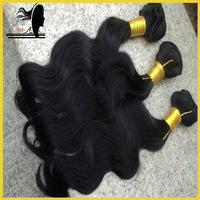 Wholesale virgin hair,peruvian body wave hair,remy human hair weft,3pcs lot,300g/lot,grade 5a,natural color,3.5oz,free shipping