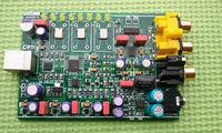 Xmos 384K 32bit PCM5102 DAC USB to Fiber Coax RCA Jack USB Power LCM