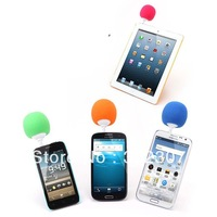 free shipping Originality ultra-portable Ball Audio Docking station Speaker sound mini stereo system for 3.5mm mobile