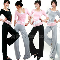 Yoga clothes piece set plus size fitness aerobics clothing yoga clothing set pad