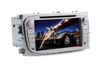 7 Inch Focus Double Din Car DVD Player,FM/AM Radio,GPS Navigation,Support Digital TV DVB-T(MPEG-4)