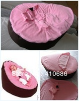 Baby Bean Bag Cover Children Kids Sofa Chair Cover Two covers one with Harness Strap Oxford waterproof fabric base Promotion