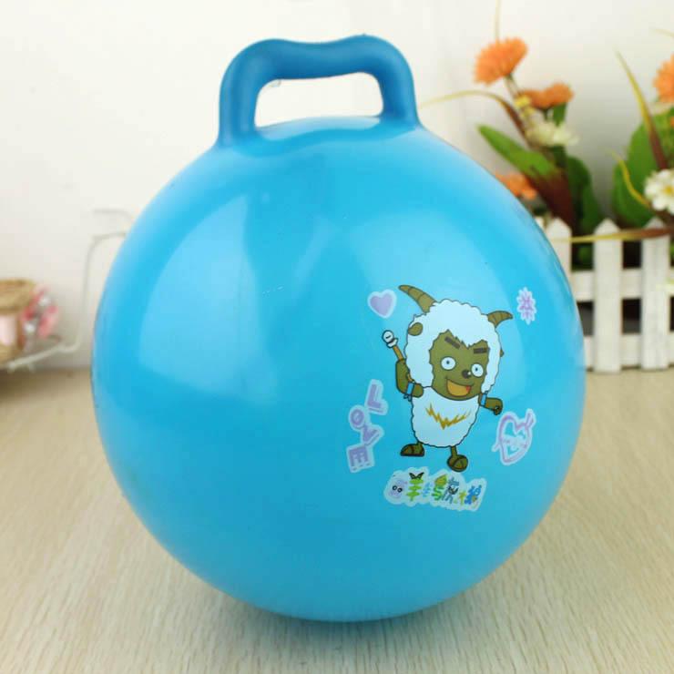 Thick Medium portable bouncing ball plastic inflatable toy child baby wanju yakuchinone(China (Mainland))