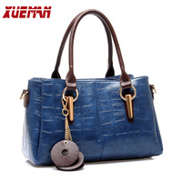 2013 New style classic tassel women's handbags Trend Crocodile stripes embossed shoulder bag