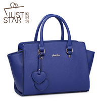 2013 New style fashion women briefcase solid color handbag PU leather bag