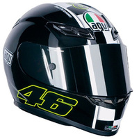 International brand Agv helmet k3 motorcycle helmet super hot black 8 black film