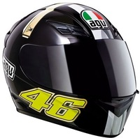 International brand Agv helmet motorcycle k3 sword original black lens