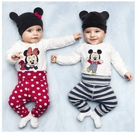 2013 autumn cotton rompers cute  jumpsuit infant baby long sleeve  romper with hat hotsale baby clotes free shipping