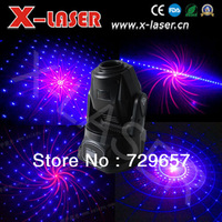 Exclusive MINI Red &Blue kaleidoscope moving head laser light for disco, dj, home party