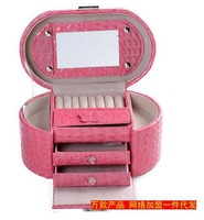 Free Shipping Retail High Grade 3 colors Cosmetic Case  Makeup Beauty Case , cosmetics case Jewelry box