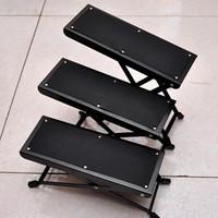 Classical guitar pedal footraces foot 4 adjust