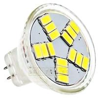 6pcs/lot GU4 MR11 4W 420-lumen 15 SMD 5630 LED Light Energy Saving Spotlight Bulbs Pure White Warm White 12 AC Free Shipping