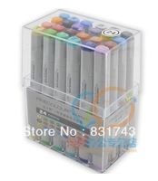 24 color Free Shipping manga Finecolour Sketch Marker pen gift cheaper than Copic Marker Art Supplies paint brush