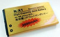 NX1 n-x1 Q10 2680mah  GOLD BATERY High Quality High Capacity High-standby  BATTERY  FOR BLACKBERRY phone