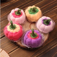Hot Sales bar 2 20 * 20cm Cake towel Christmas small gifts baby birthday gift towel cake, free shipping