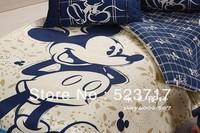 Children cartoon bedding single bed sheets dai li cotton covered 4 pieces