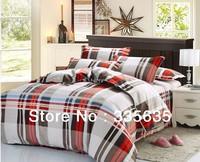 Brand New 4pcs bedding set 100% Cotton bedclothes /Add Thick bed set/bedlinen sets cotton Duvet Cover Flat Sheets Pillowcase