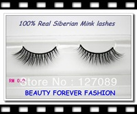 2013  winter 3pair/lot new  mink fur false eyelashes style 100% real siberian mink lashes RM010
