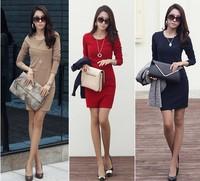 2014 New Fashion Princess office Women Dress lady shirt dresses summer dresses for women short sleeve great qulity Vintage Dress