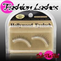 2013 Fashion Style Taiwan Hand Made Black Tapered Natural False Eye Eyelashes Fake Lashes Nude Makeup Tools With Case