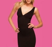 Deep V-neck body shaping slim hip slim clothing belt pad body shaping vest bra vest free shipping