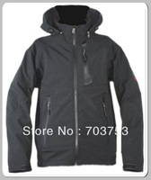 Wholesale and Retail- New  2013 Men Hooded Windstopper SoftShell 908 Jacket