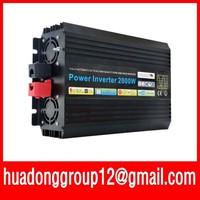 Factory Sale ! DC12V 24V 48V to AC 100V~120V/220V~240V Pure Sine Wave Power Inverter 2000W