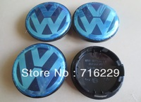 Hot Sale 65mm VW Car Wheel Cover Badge VW wheel Center Cap Caps Emblem For VW Volkswagen BY DHL 100pcs