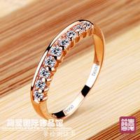 Nscd jewelry female finger ring  ring  women's ring pinky ring belt certificate dr0847