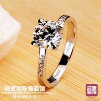950 nscd jewelry female finger ring  high quality luxury women's ring wedding ring belt certificate 1209
