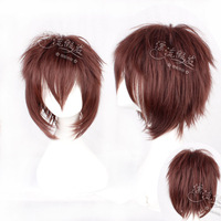HOT!!GOOD QUALITY! Cosplay wig brown stubbiness count