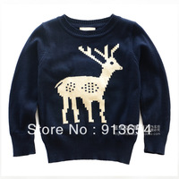new 2013 autumn winter baby knitted sweater baby clothing child pullover sweater baby boys knitwear girls cute Knitting Shirt
