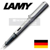 Lamy al-star metal gray grey fountain pen ef