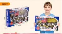 Free Shipping Child stainless steel kitchen toys toy set girl tableware(19pcs/set)