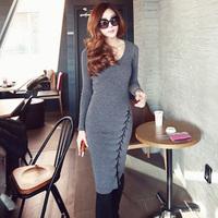 Free shipping New Fashion 2014  Girl long sleeve Winter Autumn  Brand Dress  Plus Size Dress