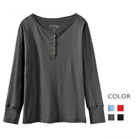 Fashion cattle 100% open-neck cotton plus size t-shirt basic shirt women's  Free shipping