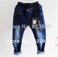 Spring 2013 new children's clothing boys wild baby jeans children trousers new Korean version in stock
