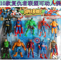 10 set toy action figure