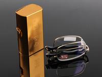 Vintage metal case Antireflect reading glasses+1.0 +1.5 +2.0 +2.5 +3.0 +3.5+4.0