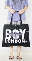 Ultralarge boy london shopping bag canvas bag full canvas bags 18002