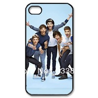 Up to date one direction 5 cool boys naughty case for iphone 4 4s 4g iphone 4 case free shipping