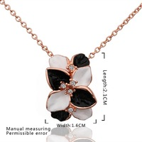 New Design 18K Gold Plated Necklace,Fashion Jewelry Necklace,18K Rhinestone Zircon Austrian Crystal Necklace SMTPN636