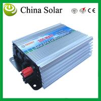 300W MPPT grid tie solar inverter,10.5-28V DC,180-260V AC,Solar grid tie inverter,CE,IP23 indoor design