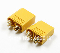 Free shipping high quality -20 pairs/bag XT90 Bullet plug connectors male and female for RC lipo battery RC Battery connector