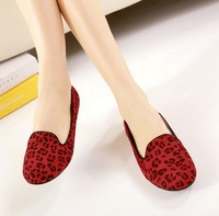 2014 new casual female Ladies fashion sexy leopard flats for women shoes woman girls spring autumn SXX42001