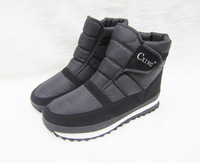 Light casual snow boots male low slip-resistant waterproof windproof warm platform shoes plus size available